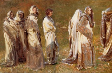 Cashmere John Singer Sargent Oil Paintings